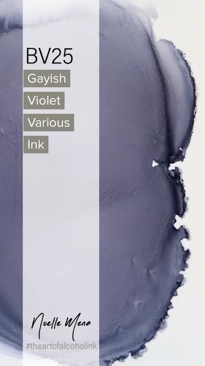 BV25 Grayish Violet