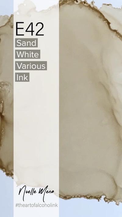 E42 Sand White