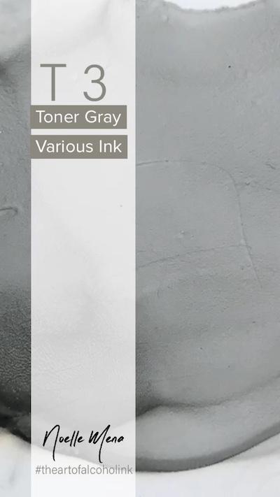 T3 Toner Gray