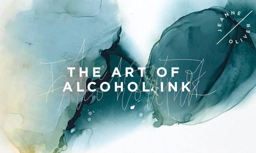 The Art of Alcohol Ink Online Course with Noelle Mena